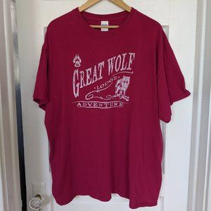 Vintage Great Wolf Lodge Adventure T-Shirt